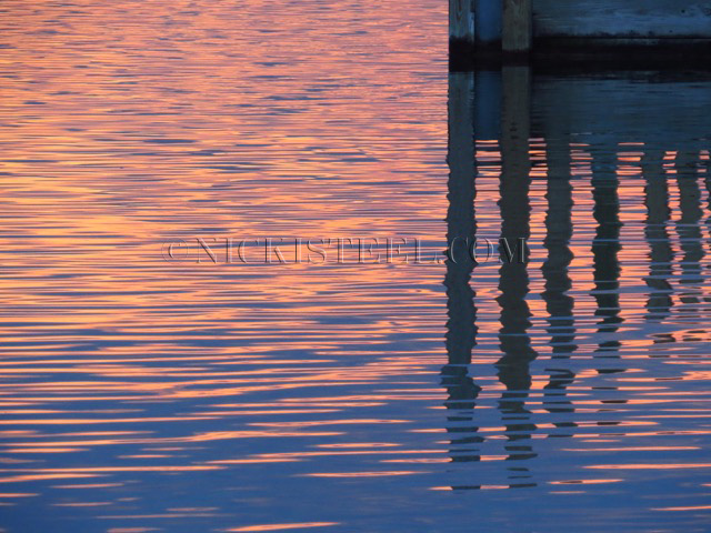 reflections & dock