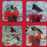 Winter Birds Coasters